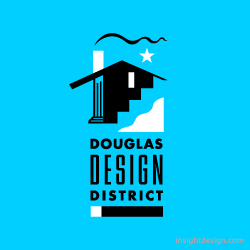Douglas Design District logo design Wichita, KS
