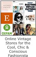 Online vintage stores