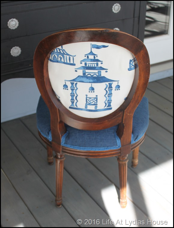 pagoda chair back