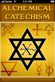 Cover of Baron Tschoudy's Book Alchemical Catechism