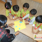 Introduction to Diamond Shape by Nursery Morning Section at Witty World, Chikoowadi (2017-18)