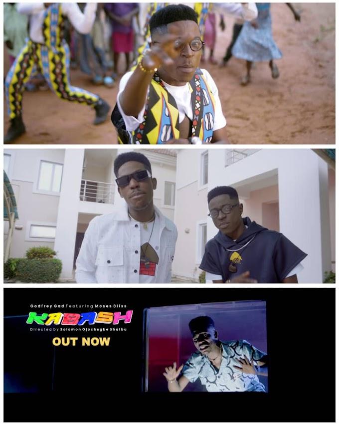VIDEO: Godfrey Gad & Moses Bliss – Kabash