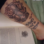 arm book - Harry Potter Tattoos Pictures