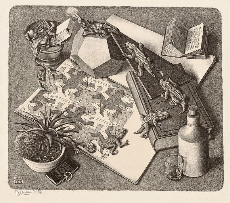kunst van Maurits Cornelis Escher