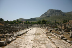 Lechaean Way, Ancient Corinth