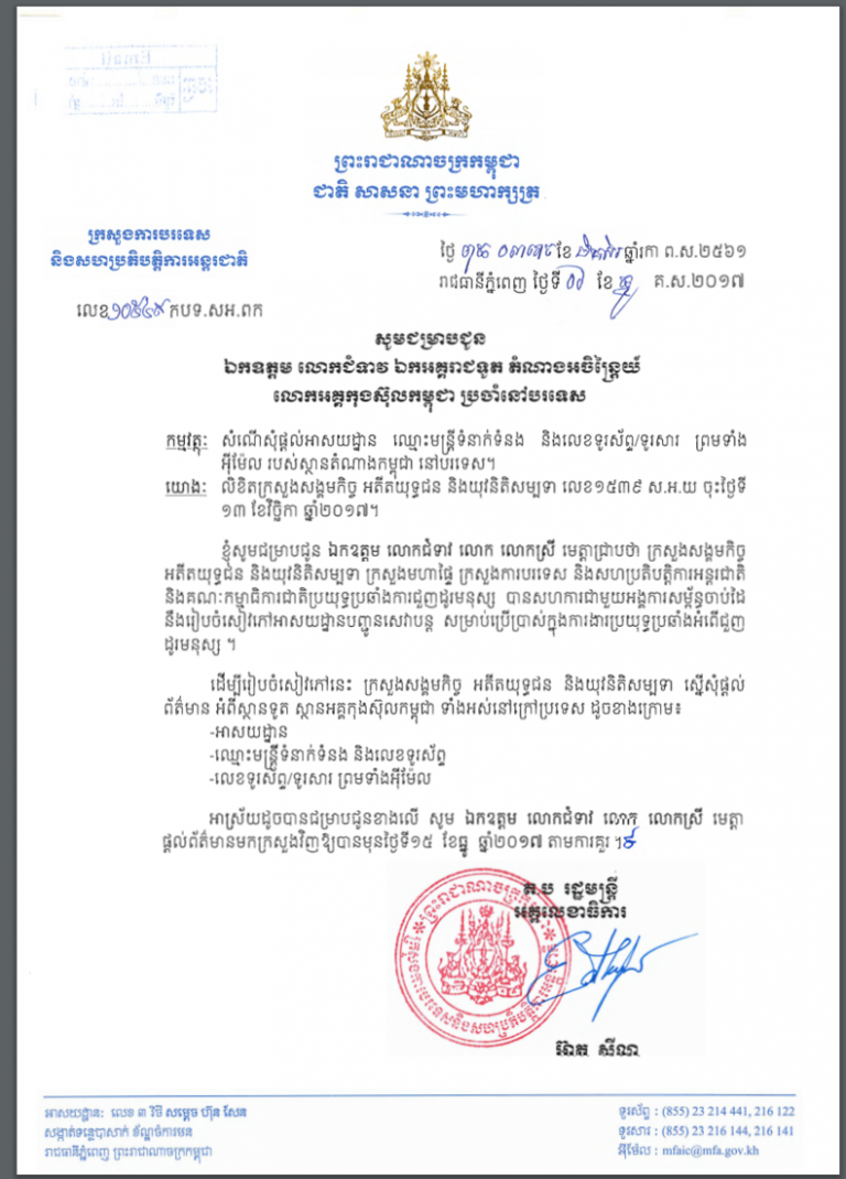 NOKKI Cambodian Language Document