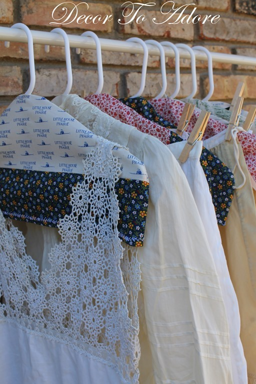 Fabric Covered Hangers 062
