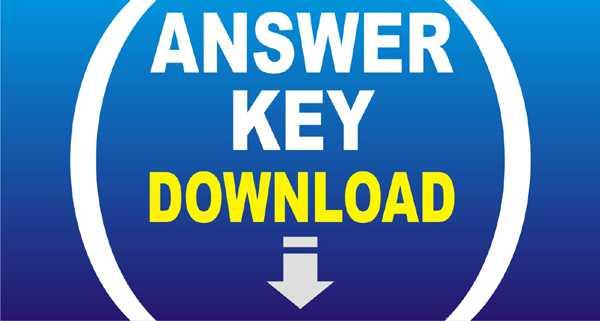 JEE Main 2021 Answer Key