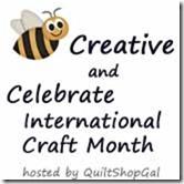 bee creative kick off badge