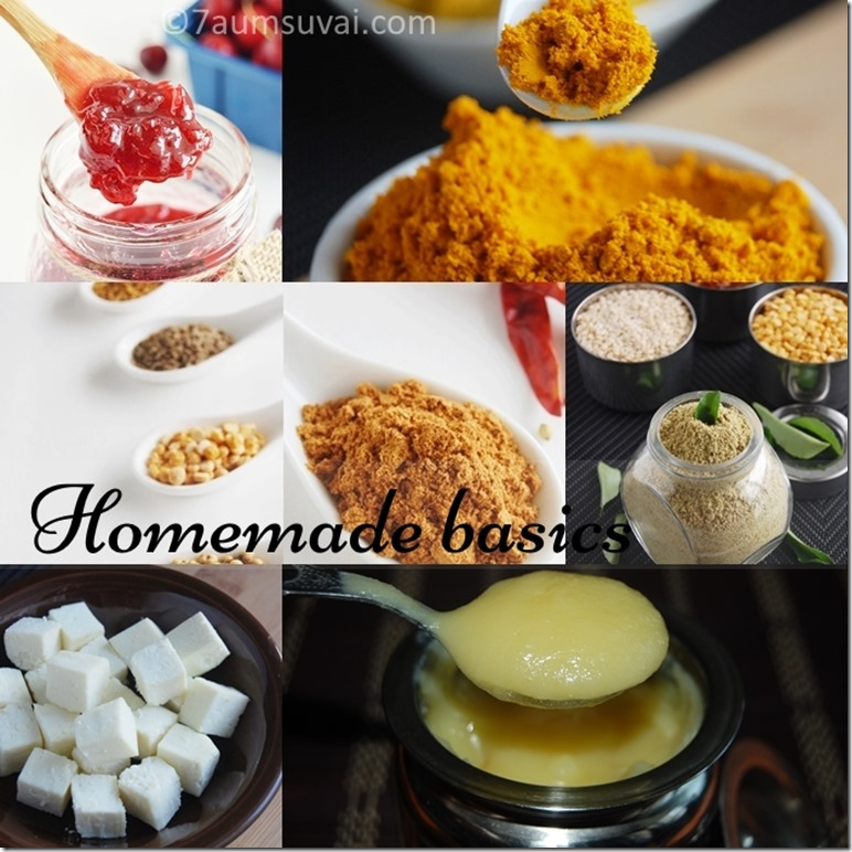Homemade basics