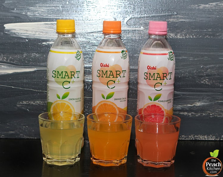Boost your Immunity with Oishi Smart C | www.thepeachkitchen.com