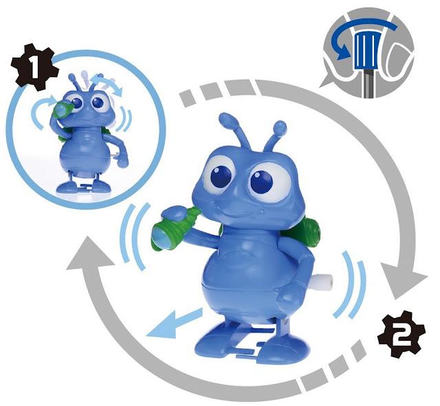 Đồ chơi Mô hình chú kiến dũng cảm Flik Movin Movin M-10 Takara Tomy