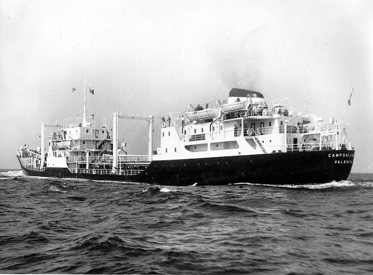 CAMPOALEGRE. Pruebas de mar efectuadas el 1 de julio de 1960. Foto Familia Bellido Femenia.jpeg