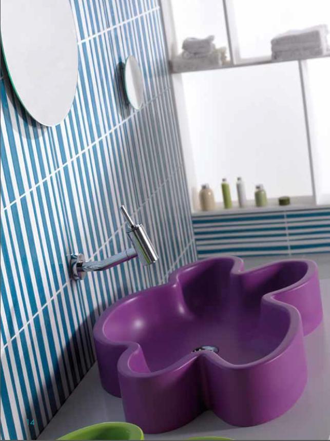 azulejos para baño modernos y clásicos en madrid, rivas |gres factory - Azulejos Bano Agatha Ruiz Dela Prada