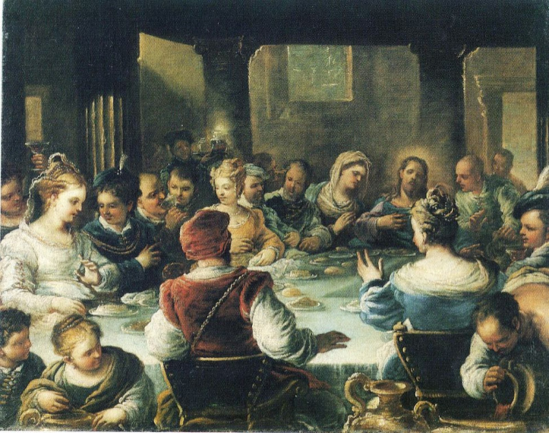 Luca Giordano - Marriage at Cana
