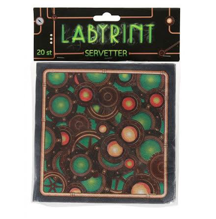Labyrint Servetter 20st