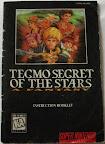 Secret Of The Stars - Manual portada