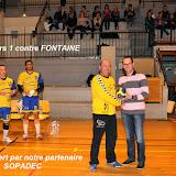 Seniors masculins 1 contre Fontaine les Dijon (30-03-14)