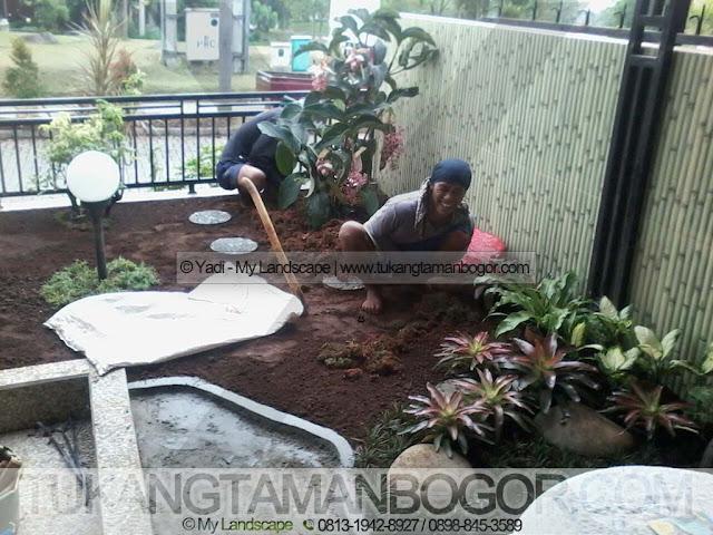 Tukang Taman Tangerang Murah & Profesional - Jasa Pembuatan Taman Minimalis Harga Murah