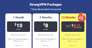 On the occasion of today I will discuss the information about for Full Strong VPN Review (pricing,Features,Protocol,Support) 2018