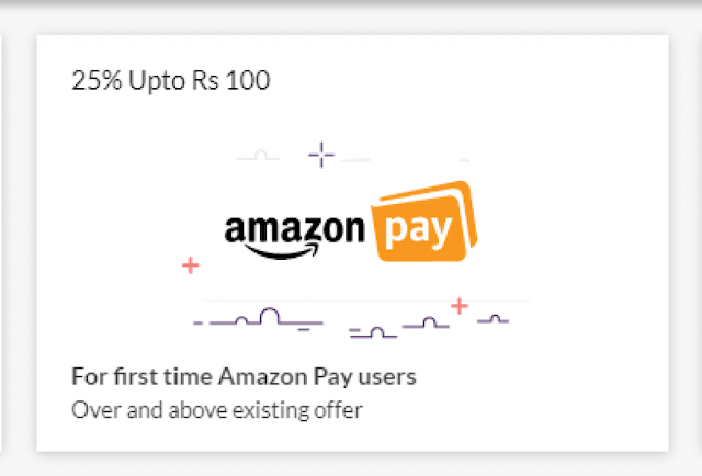 AmazonPay RedBus Offer - 25% Cashback Upto Rs.75 On Bookings