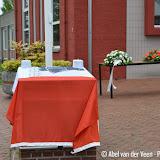 Onthulling verzetstrijdersmonument bij gemeentehuis - Foto's Abel van der Veen