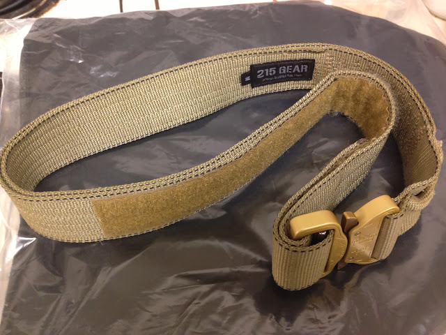 215 Gear, Ultimate Rigger's Belt, cobra buckle, Medium
