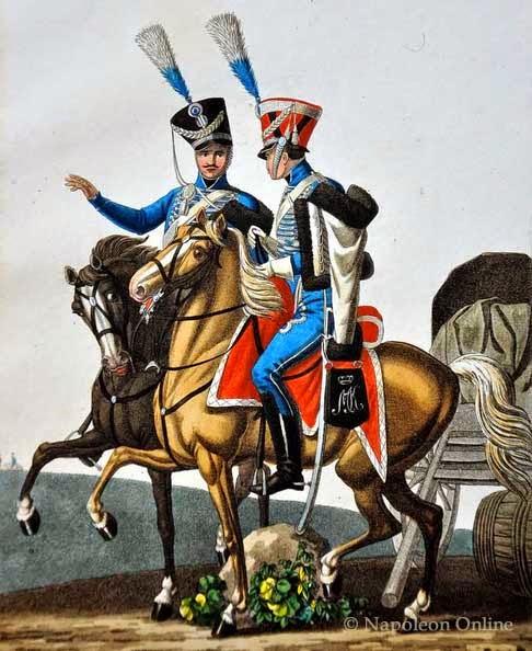Армейские солдаты Баварского короля