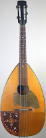 1930s 4 string flat back german Mandola