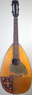 Perlgold 4 string Mandocello