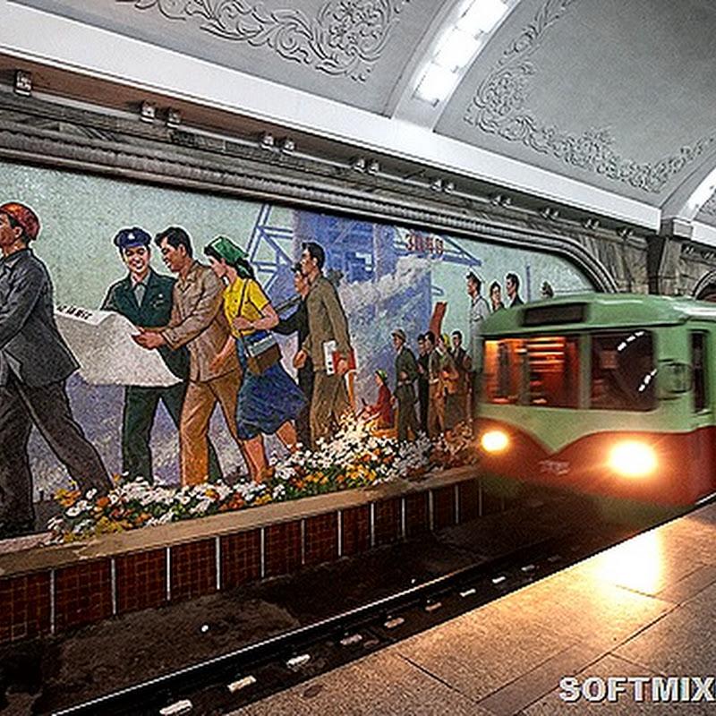 Как выглядит единственное метро Северной Кореи