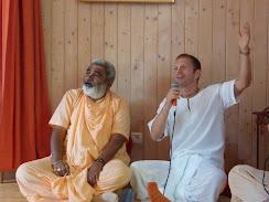 Prem Prayojana speaking Krishna katha