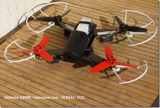 dxdrone x300b volorama