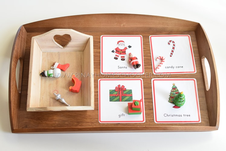 MontessoriLove Christmas Preschool Literacy Learning Activities