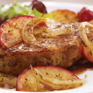 Boneless Pork Chops Apples And Onions Recipes