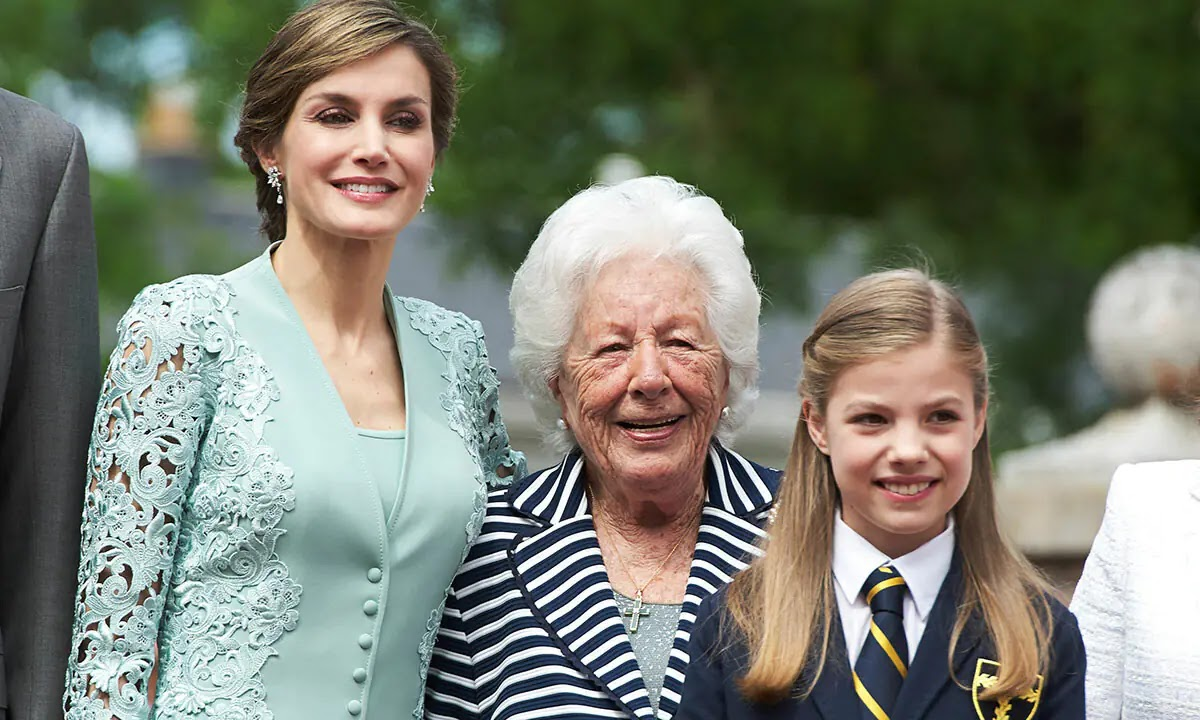 Queen Letizia of Spain's Grandmother Dies at the Age of 93