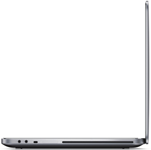 Photo: Dell XPS 15 laptop - right side view.More details here: http://dell.to/Oj6LIW