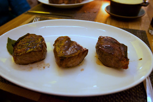 steaks, Urban Farmer, Portland Oregon