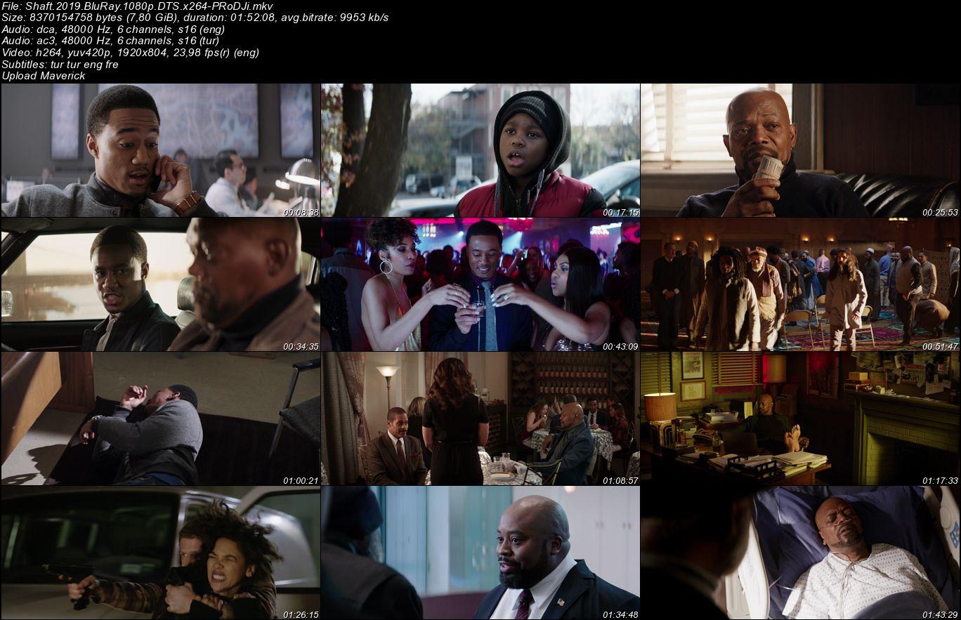 Shaft - 2019 BluRay 1080p DuaL x264 DTS 5.1 indir