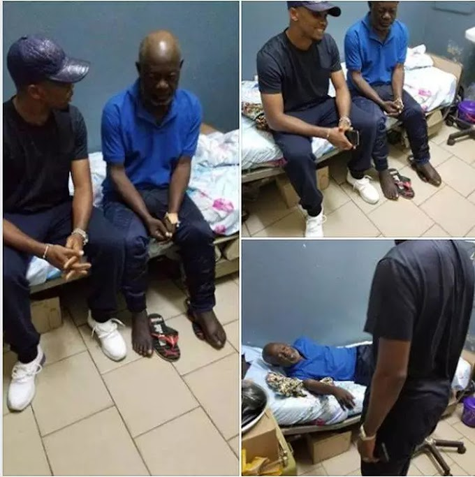 See What Samuel Eto'o Did For Former Player After Becoming Homeless