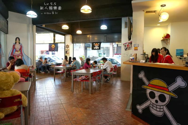 LV5.5新人類餐廳營造的是一種整體環境氛圍