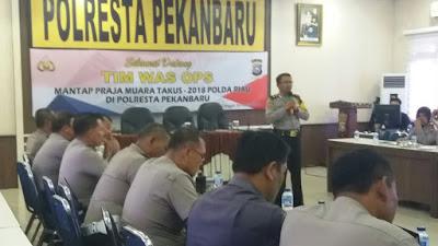 Polresta Adakan Rapat AwalPemilihan Polisi Teladan