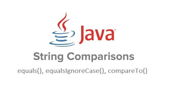 String Comparison - So sánh chuỗi trong Java