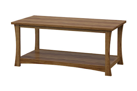 Zen Coffee Table in Lamar Maple