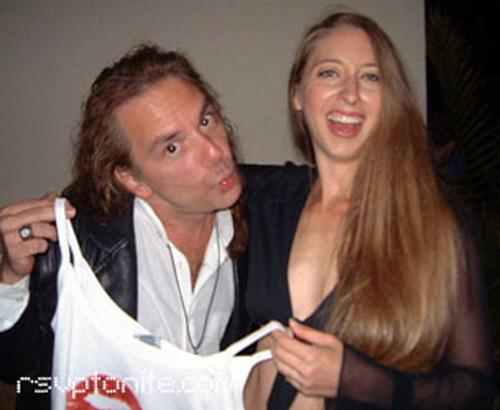 Michael Wisnieux With Lovely Friend Cheryl Just A Kiss Releaseparty, Michael Wisnieux