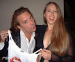 Michael Wisnieux With Lovely Friend Cheryl Just A Kiss Releaseparty