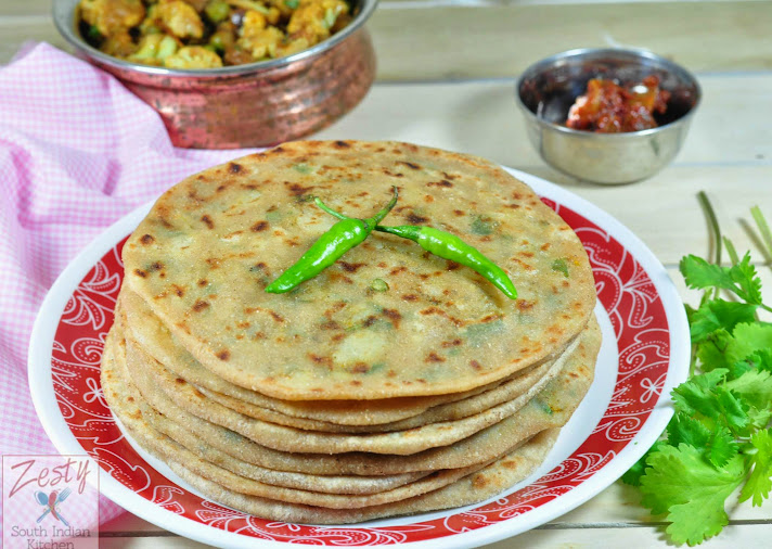 Aloo Paratha, Aloo ka Paratha: Potato stuffed flat bread Guest post ...