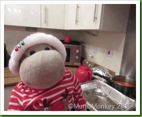 Christmas Kitchen .