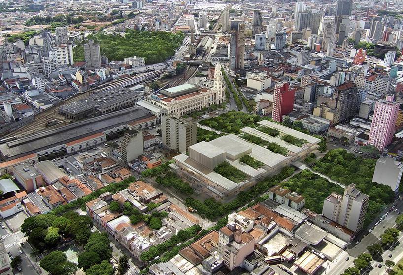 São Paulo Cultural Complex Luz design by Herzog & de Meuron
