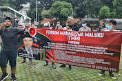 Aksi Demo, FMM Serukan Desak KPK Adili Mantan Bupati Maluku Tenggara